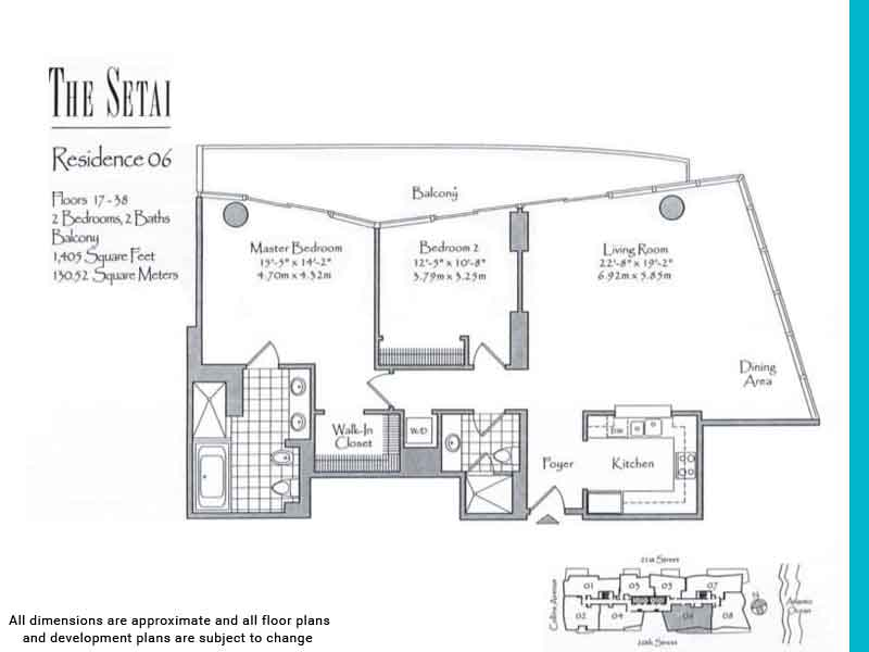 the setai floor plans | Unit 6