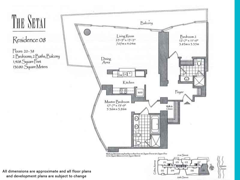 the setai floor plans | Unit 8